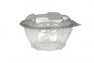 750ml Round Hinge Lid Salad Container -0