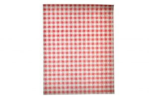 Red Gingham Greaseproof Paper-0