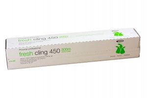 "18"" Cling Film Cutterbox (450mm x 300m)-0"